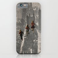 iPhone Cases featuring RUN THE TOWN by Beth Hoeckel Collage & Design
