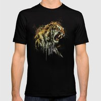 Ty-Ga Mens Fitted Tee Black SMALL
