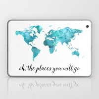 Oh, the places you will go Laptop & iPad Skin
