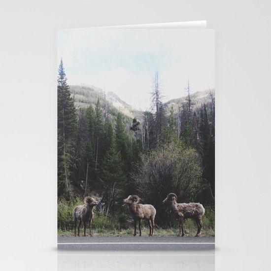 Bighorn Sheep Stationery Card