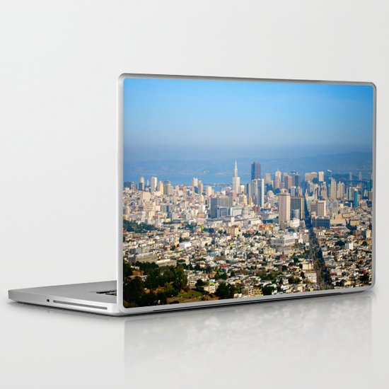 Twin Peaks, San Francisco Laptop & iPad Skin