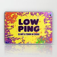 Low-Ping Laptop & iPad Skin
