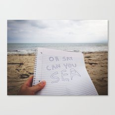 Oh Say Can You Sea 2.0 Canvas Print
