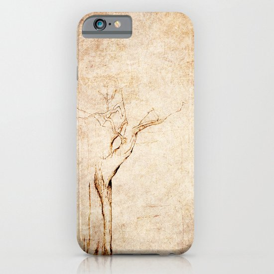 Drawn Tree iPhone Case iPhone & iPod Case