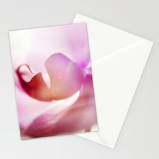 Orchid Abstract Stationery Cards
