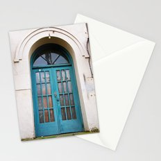 Classic doorway Stationery Cards