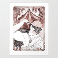 Miss Aulola Petite Art Print