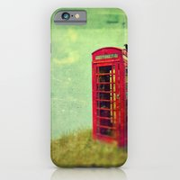 iPhone & iPod Case featuring Phone Booth by Innershadow Photography