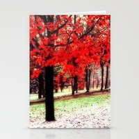 First Snowfall Stationery Cards