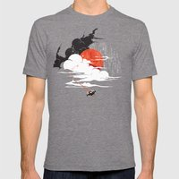 Uncharted Voyage Mens Fitted Tee Tri-Grey SMALL