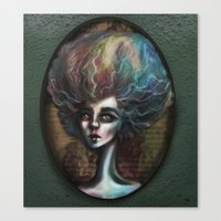 Drama of The Dark and Wicked Canvas Print