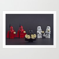 Death Star Recruiting Day Art Print