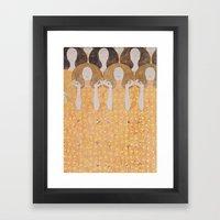 Gustav Klimt - Chor Der … Framed Art Print
