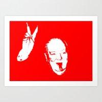 Churchill Fifteen Art Print