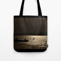 Survival Begins  Tote Bag
