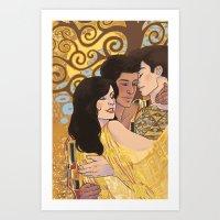 Love Unafraid Art Print