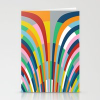 Rainbow Bricks Stationery Cards