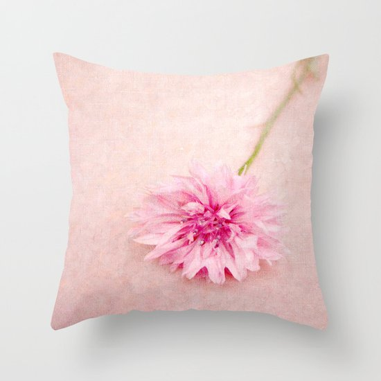 English Beauty  Throw Pillow