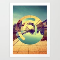 Art Print featuring L'Infinito by Victor Vercesi