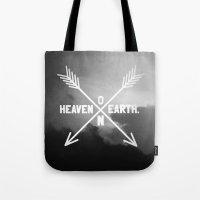 Heaven On Earth (B&W) Tote Bag