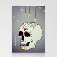 Skull Chill Out Stationery Cards