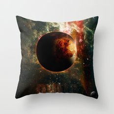 DUNE Planet Arrakis Poster Throw Pillow