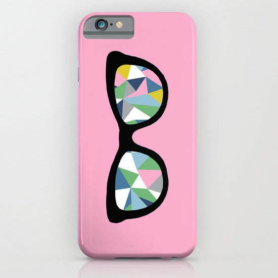 Abstract Eyes on Pink iPhone & iPod Case