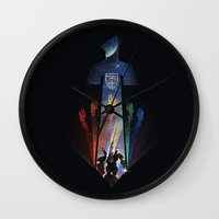 Blazing Sword Wall Clock