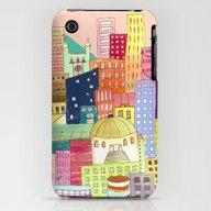 Downtown iPhone (3g, 3gs) Slim Case