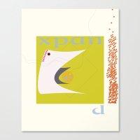 Expanding Requires Contr… Canvas Print