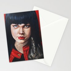 Red Woman  Stationery Cards