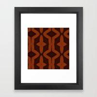 southwest pattern Framed Art Print