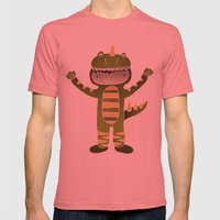 RAWR Mens Fitted Tee Pomegranate SMALL
