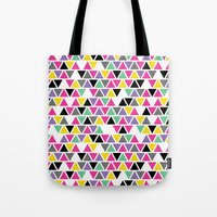Pop Triangles Tote Bag
