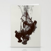 smoke Stationery Cards featuring Smoke by Elsa Harley