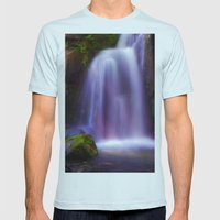 Glimpse of Magic Mens Fitted Tee Light Blue SMALL