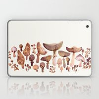 Watercolor Mushrooms Laptop & iPad Skin
