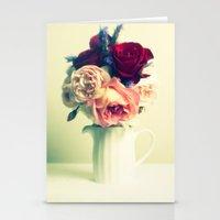 Roses & Lavender Stationery Cards