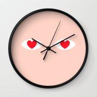 EYES 4 U ONLY Wall Clock