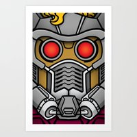 Star Lord Art Print