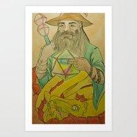 20th Wizard Art Print