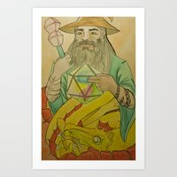 20th Wizard Art Print