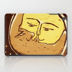 Conjunction moon and planet iPad Case