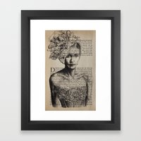 Pride & Prejudice, Chapt… Framed Art Print