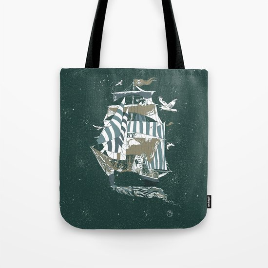 Sail to The Moon Tote Bag