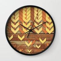ZigZag Woody Wall Clock