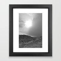Snow Scene 3 Framed Art Print