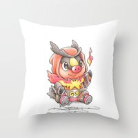 A Fire to be Kindled Throw Pillow
