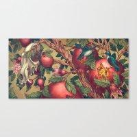 Ragged Wood Canvas Print