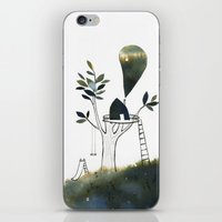Tiny Tree House iPhone & iPod Skin